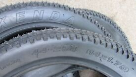 Bicycle Tyres with Tubes. Brand New. 14 x 1.75 (44 x 254) 'Kenda'.