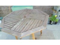 FREE Wooden patio table FREE