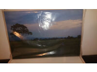NEW Picture Canvas Countryside scene Art