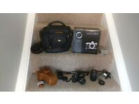 Olympus OMD E-M10 mark ii with double zoom extra lenses and cases As NEW