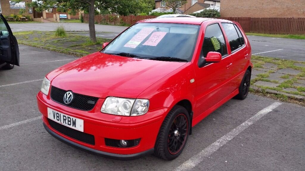 Vw Polo Gti 2000 Reg  67000 Genuine Miles New Mot New Clutch Full Service History  Valuable Reg