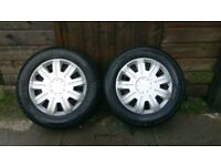 Pair Of Continental 165/70 R 13 79T Tyres
