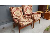 2 Old Charm Fireside Chairs £65 each