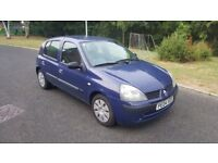 2004 5 Door Renault Clio MOT March 2019 Economical To Run And Insure