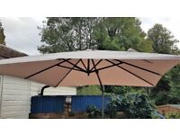 Large Bramblecrest 3m Parasol for sale with stand