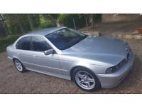 02 BMW 525D SE SPORT M SERIES 11 month MOT GREAT CONDITION (drives like a dream)