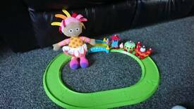 Musical in the night garden ninky nonk and interactive upsy daisy