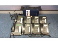 Panasonic KX-TDA15 Phone system with 2+7 phones