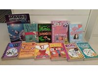 16 childrens books (including secret diary of Adrian Mole, Roald Dahl and dork diaries only £2