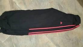 Adidas girls tracksuit bottoms