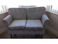 2 seater drop arm sofa