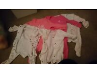 0-3months bundle of girls clothes
