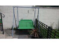 Large garden swing seat