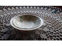 Belleek Basket Weave cereal bowl