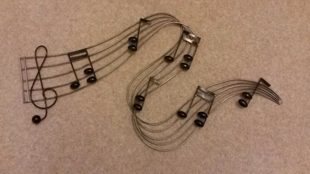 Metal Wall Art Music Theme In Mickleover Derbyshire Gumtree