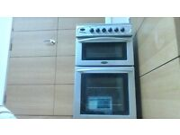 free standing oven with grill and hobs