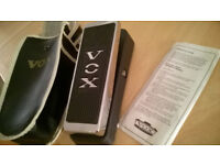 Vox V847 Wah Wah Pedal, excellent as new condition