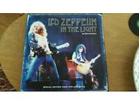 Led Zeppelin In the Light Book and 4 DVD set