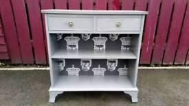 Upcycled antique unit