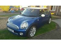 Mini Cooper 1.6 Blue & White 12 month MOT