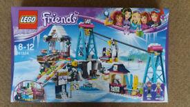 Lego 41324 Friends Snow Resort Ski Lift - Brand New