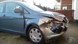 Car perfect driving condition,just had the accident in 2 months,66000miles,manual 1.6 Altea XL 2007