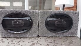 Pioneer TS-A6923i 400W 6 x 9inch 3-way Coaxial Speakers