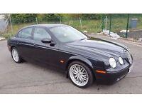 Automatic Diesel 2004 Jaguar S-Type Sport 5 Door Low Miles 6 Month MOT Leather Seats..