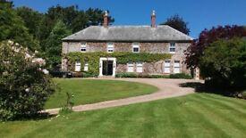 Bradford Manor Bradford Devon is for sale with an estate of around 13 acres