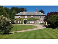 Bradford Manor Bradford Devon is for sale with an estate of around 13 acres