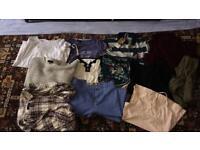 very big bundle of ladies clothing