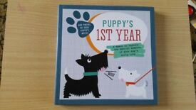 Brand New Puppy's First Year Record Book