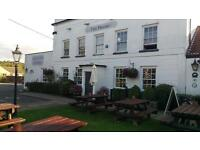 The Priory in the village of Portbury require Front of House Staff Part time and full time