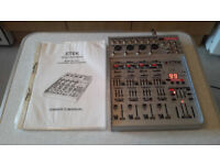 Etek 12 channel mixer