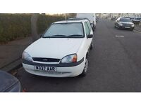 FORD FIESTA 1.2 STARTS AND DRIVES GREAT LONG MOT LOW MILES NICE EXAMPLE RARE WHITE COLOUR £350