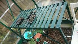 Potting table bench vgc