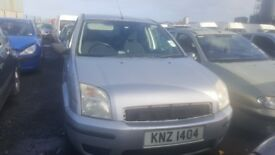 2005 FORD FUSION 2 1.4 PETROL BREAKING FOR PARTS ONLY POSTAGE AVAILABLE NATIONWIDE