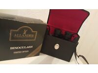 ALLANDER ( House of Fraser ) RETRO BINOCULARS COATED OPTICS 8 X 40 ZCF 1981