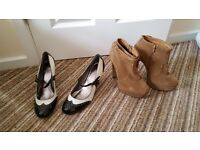 Womens Heels sizes 5 - 6 Sizes & prices on description NOT FREE