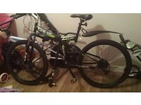 Velus xt600 21 speed pedal bike