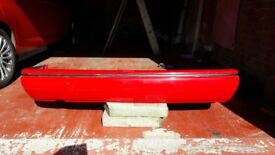 Ford XR3i rear bumper in radiant red