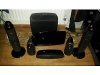Pioneer 5.1 surround speakers