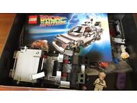 Rare back to the future Lego set 21103 with spelling error