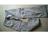 joe browns khaki cargo trousers size 12