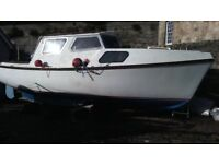 Cox's 22 Motorboat Hull