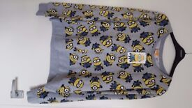 Adults Despicable Me Minion Jumper. Size Medium. Brand New with Tags. £5