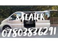 8 seater for hire with Driver