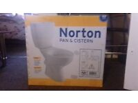 Toilet Brand new Norton Pan & Cisten