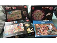 1000 Piece puzzles all amazing quality