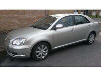 Toyota avensis vvti low mileage one owner